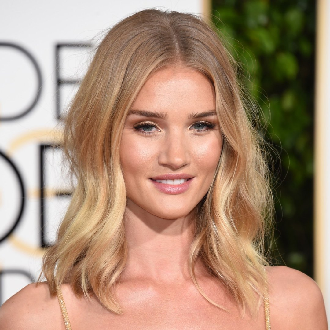 corte bob largo rosie huntington whiteley